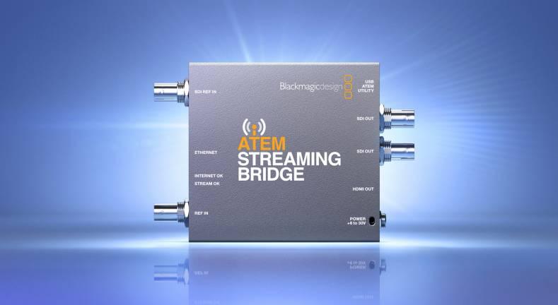 Blackmagic Design Launch Atem Streaming Bridge The Broadcast Bridge Connecting It To Broadcast