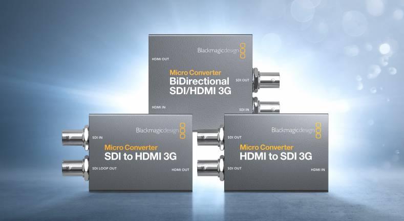 Blackmagic Design S New Micro Converter 3g The Broadcast Bridge Connecting It To Broadcast