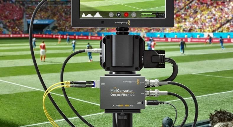 Blackmagic Announces Mini Converter Optical Fiber 12g The Broadcast Bridge Connecting It To Broadcast