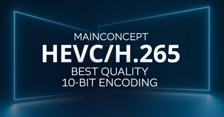 For the second year in a row, MainConcept came out on top in tests across 8- and 10-bit encoding.