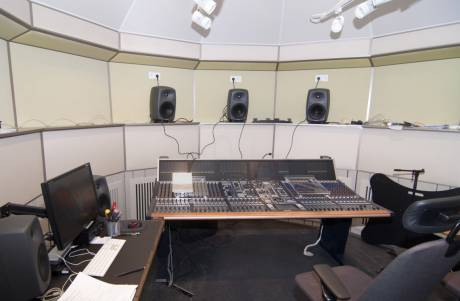 Royal College of Music, Stockholm , features a powerful 40-fader Stage Tec Aurus platinum audio console handling up to 800 audio channels.
