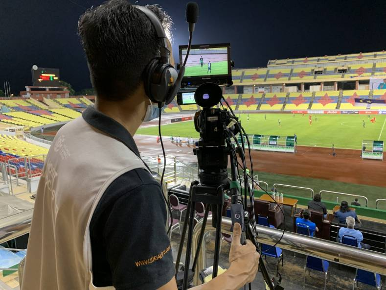 In-cloud 'pop-up' matches for Malaysian Football League - The latest live production to benefit from Dejero's Smart Blending Technology.
