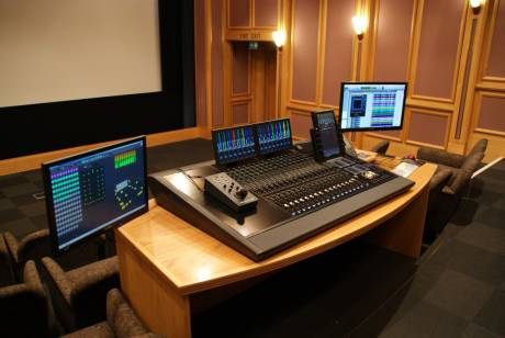 Avid Pro Tools | S6 Modular Control Surface at Dolby UK HQ.