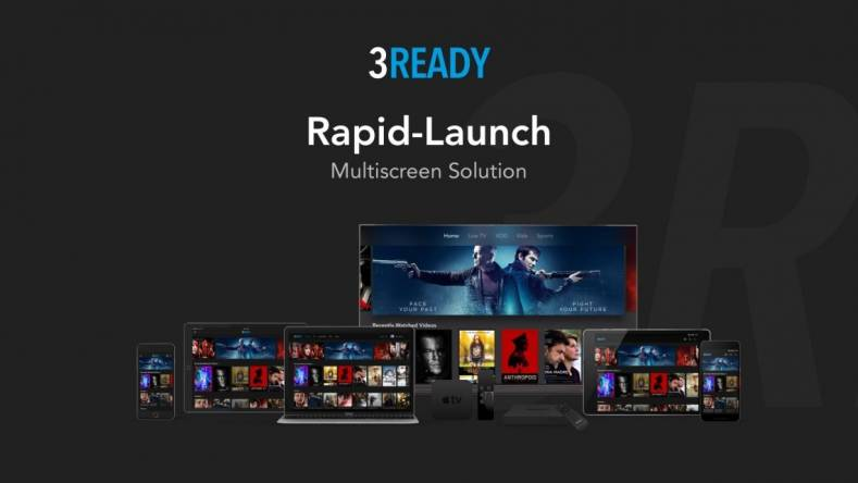 3 Screen's 3READY is pitched at at broadcasters, content owners, and second and third tier OTT operators.