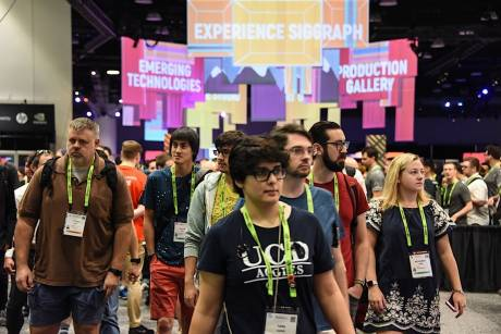 SIGGRAPH is where youth is not wasted on the young