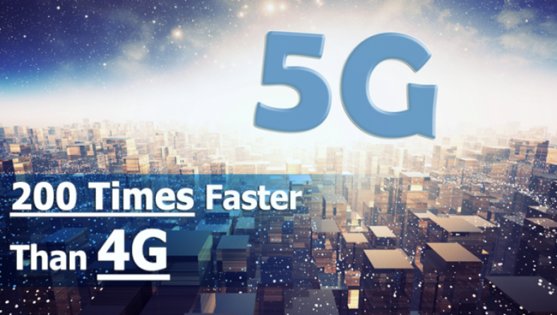 Tomorrow's 5G services may be up to 200 times faster than today's 4G links.