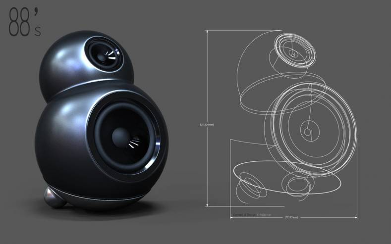Despite the power of CAD software, loudspeaker design still requires the skills of a knowledgeable human. Illustration: 3DEricDesign.