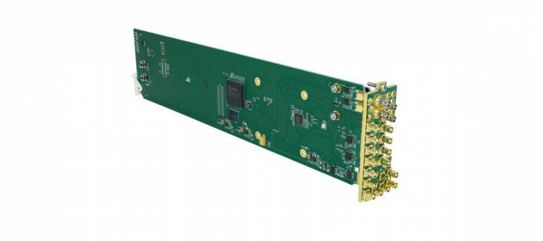 The Cobalt Digital 9414 Series Distribution Amplifier is for openGear frames.