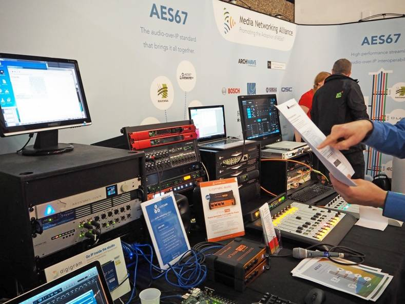 Demonstrations of the AES67 networking format have shown how the open standard helps manufacturers, integrators and end users alike.