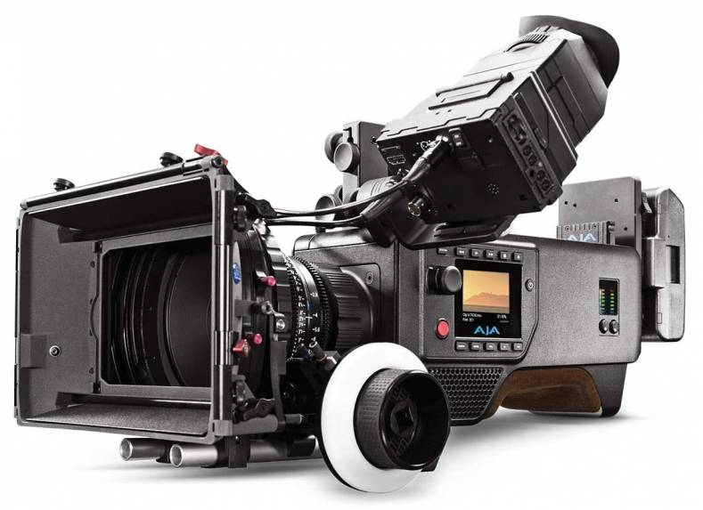 The recently-released AJA CION camera
