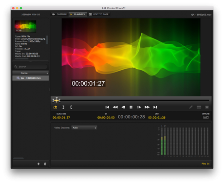 The AJA update delivers advanced audio capabilities for Adobe Premiere Pro CC and more.