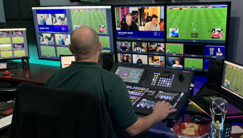 Grass Valley's cloud-based platform for broadcast distributes quality remote production incorporating familiar control surfaces.