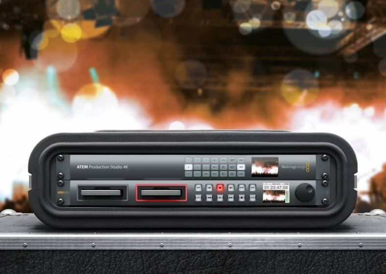 Blackmagic Design Add Hyperdeck Control To Atem The Broadcast Bridge Connecting It To Broadcast