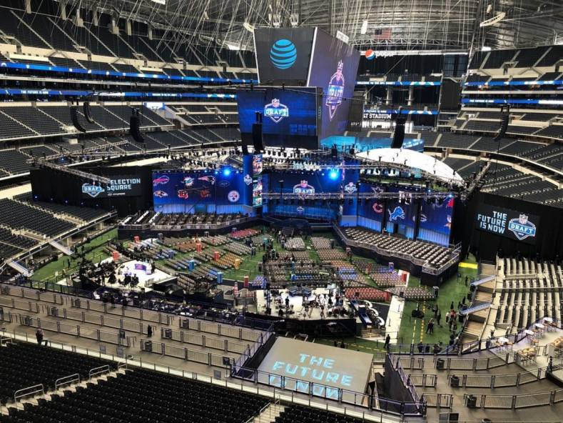 Renewed Vision's multi-screen media server was used for the live 2018 NFL Draft broadcast earlier this year.