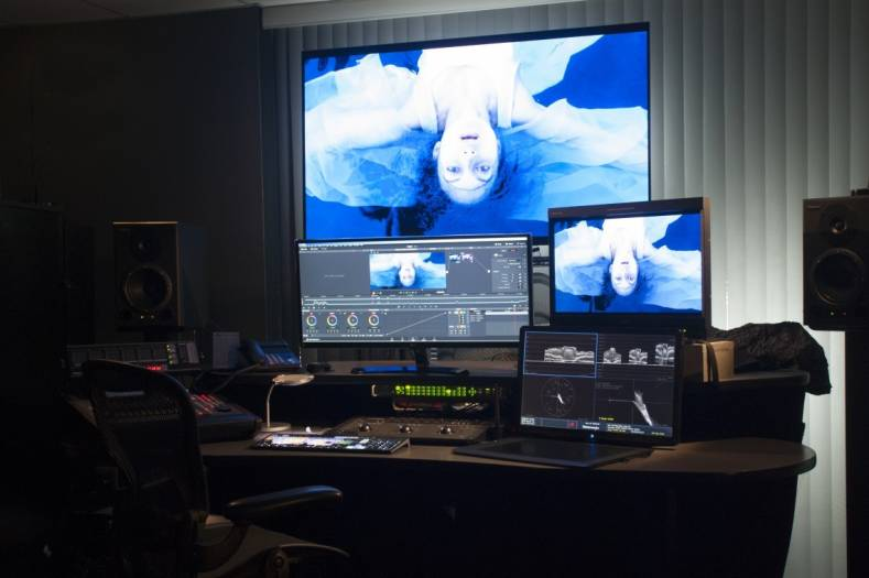 The DaVinci Resolve suite at AlphaDogs