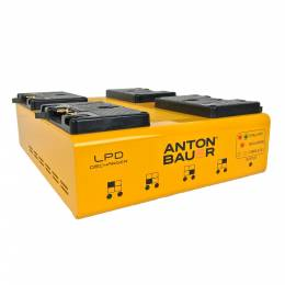Anton/Bauer LPD battey discharger enables crews to safely transport batteries as cargo on airlines.