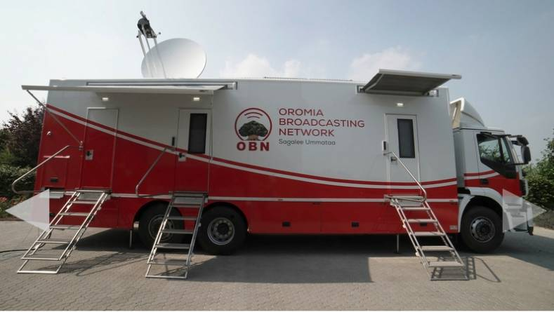 OBN's first DSNG is a versatile 12-camera unit of about 12 meters in length with a full 12G baseband SDI workflow.