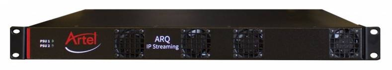 Artel Video Systems' ARQ IP Streaming System