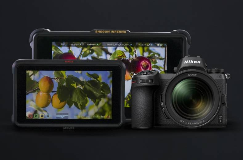 The Atomos Ninja V compact monitor/recorder supports the latest mirrorless cameras from Canon, Fujifilm and Nikon.