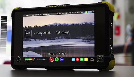Atomos recorders are now capable of High Dynamic Range video when you shoot in Log