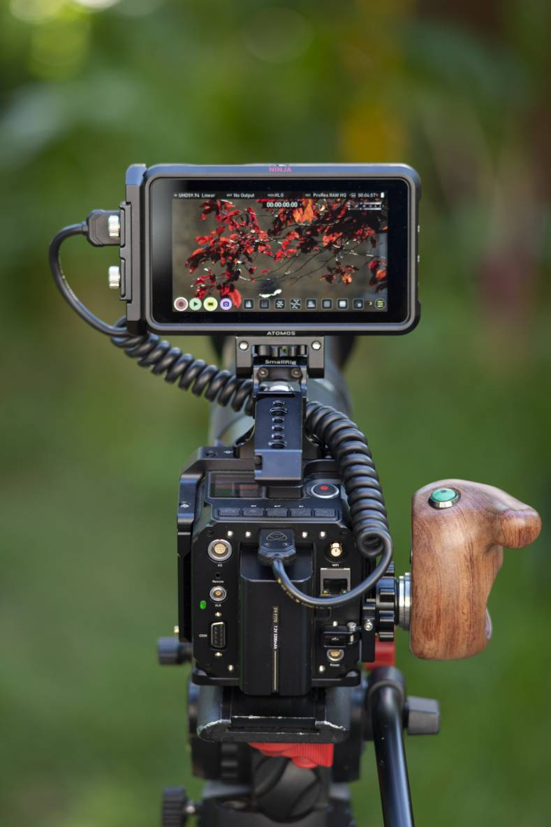 The E2 camera and Ninja V provide the ability to record Apple ProRes RAW at up to 4Kp60.