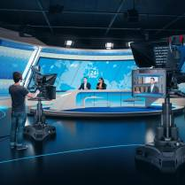 As more broadcasts move from inside the studio to remote locations, teleprompting receives new attention.