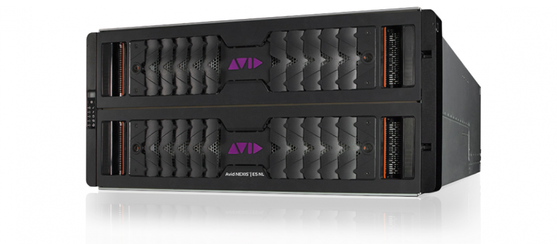 Up to eight Avid Nexis E5 NL engines can be integrated as one virtualizable pool of storage.