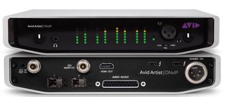 Avid Artist | DNxIP is a Thunderbolt 3-compatible I/O device that enables the transfer of HD video over 10 GigE IP networks.