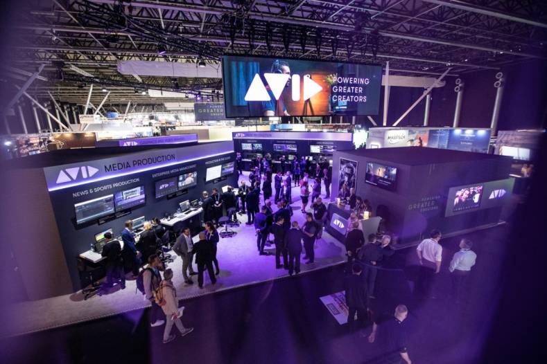 Avid made the trek down to the end of Hall 7 of the RAI worthwhile, because that's where much of the excitement was.