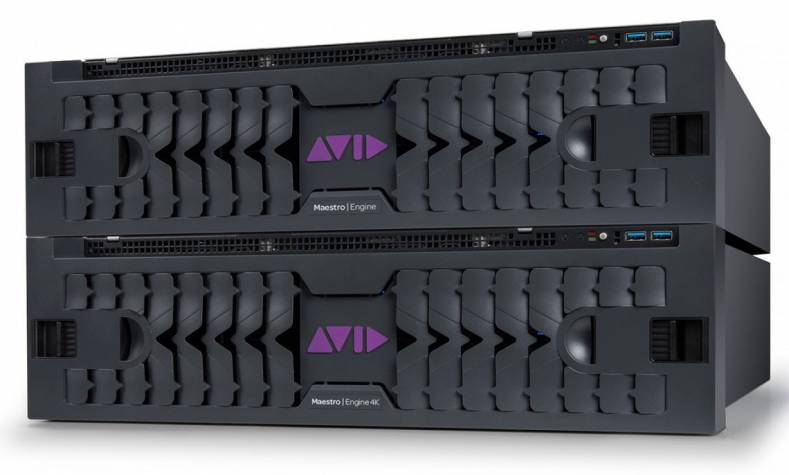 Avid's Maestro | Engine is a next gen scalable graphics and video rendering platform.