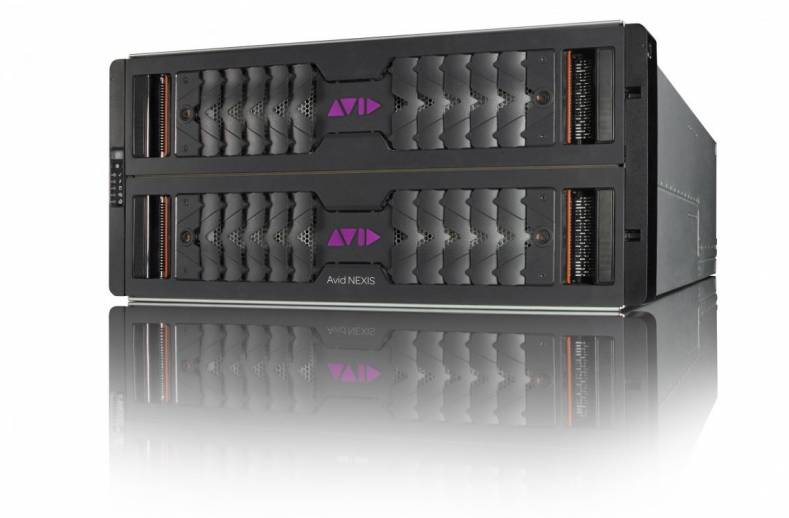 Avid NEXIS | E5 NL is suited for project parking, staging workflows and proxy archive.