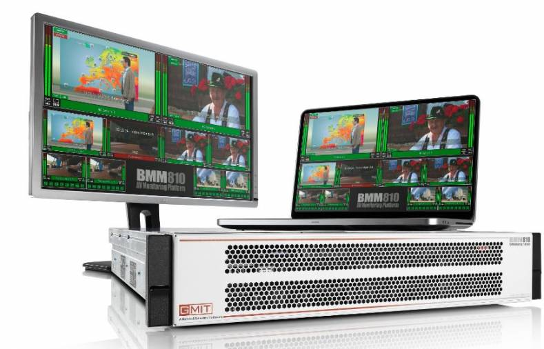 The BMM-810 is a server-based solution for monitoring and visualization of broadcast video and audio services.