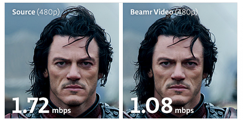 BeamR Video comparison