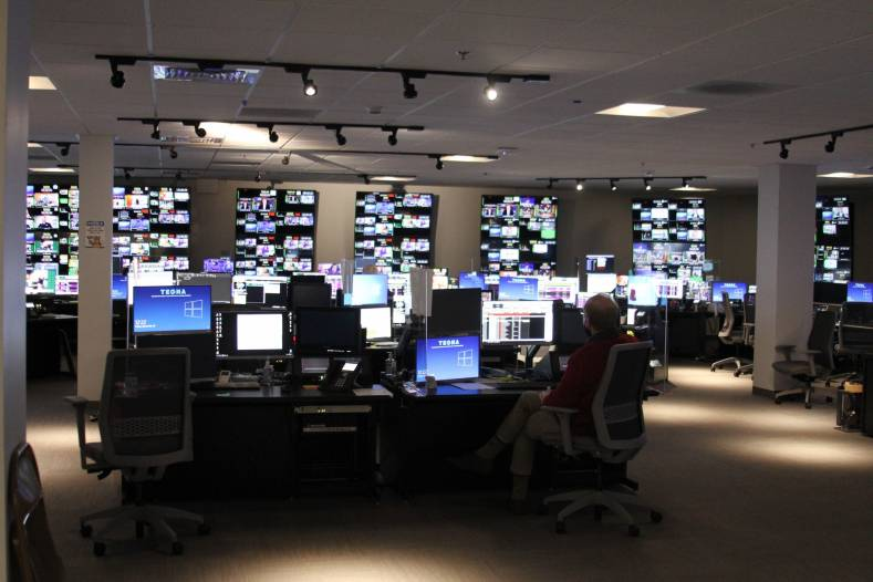 A look inside the new TEGNA master control hub designed by BeckTV.
