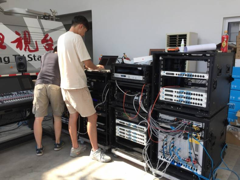 Beijing Television (BTV) has been using Lawo consoles since 2008.