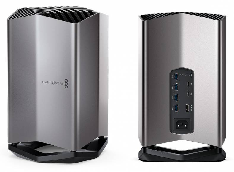 Blackmagic Releases Egpu For Macbookpro The Broadcast Bridge Connecting It To Broadcast