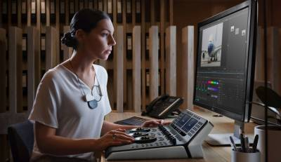 Color grading is important magic in the creation of any film or video.  Image: Blackmagic Design.
