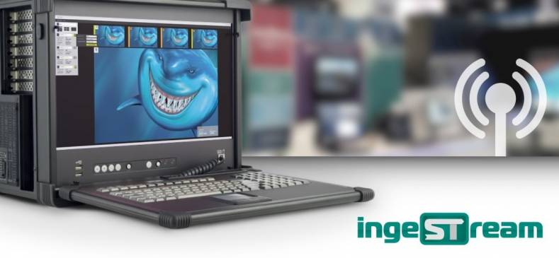 Bluefish444 new IngeStream software to be on stand at IBC 2018.