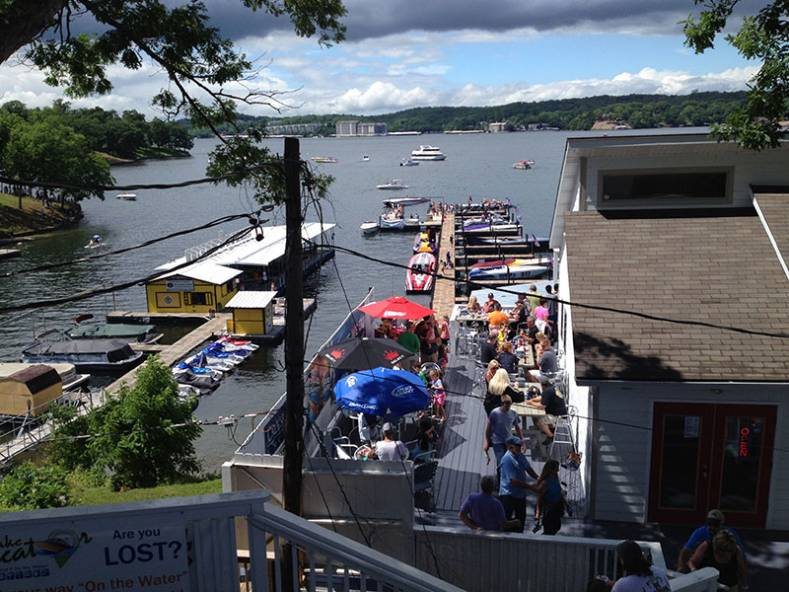 The Lake of the Ozarks is a 90 mile long inland waterway, also known as Missouri's Mid-West Coast. In  June it becomes the venue of two worl
