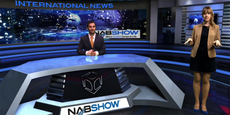 At the 2017 NAB Show, Brainstorm will further enhance its InfinitySet virtual set solution with advanced graphics features.