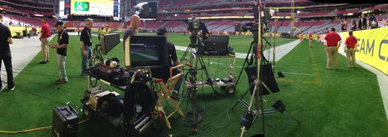 Sound Devices 664 mixer and Video Devices PIX 240i helped capture the myriad of events surrounding the Pro Bowl and Super Bowl telecasts.