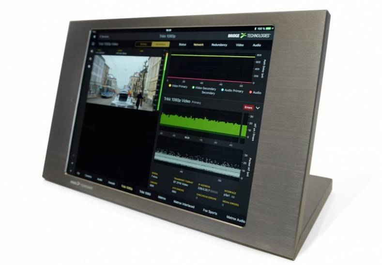 Bridge Technologies' Instrument View will give broadcast and production crews the confidence to embrace IP.