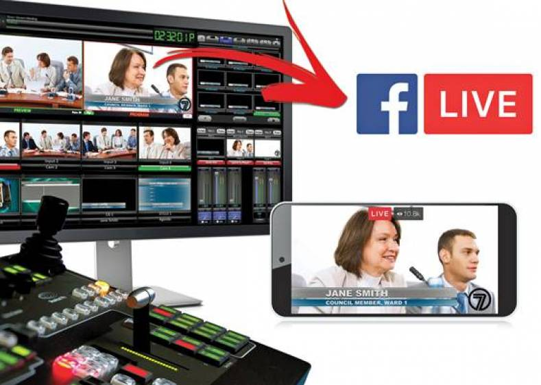 Facebook Live provide broadcasters with a practical and immediate way to share press conferences and late-breaking news events.