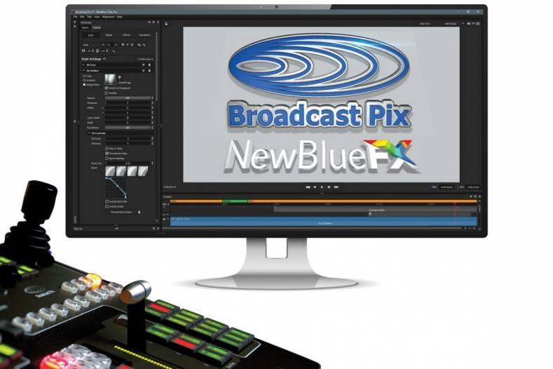 "Broadcast Pix gives its BPswitch family of switchers the""NewBlue Titling Xperience"""