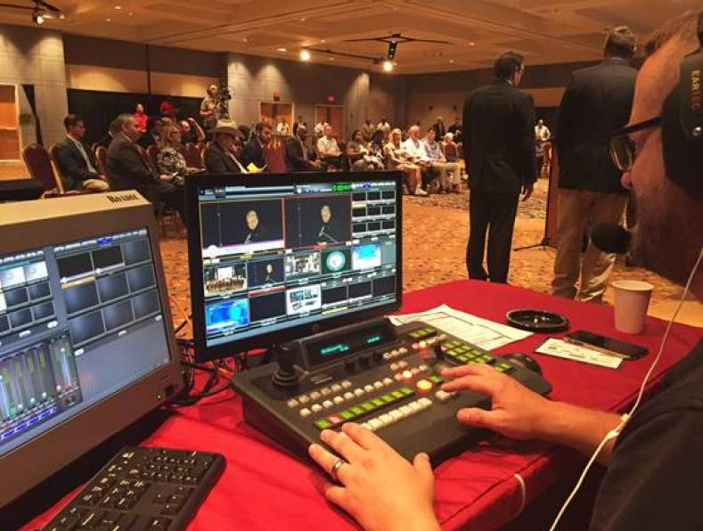 Gavin MacRoberts uses FayTV's Broadcast Pix Roadie mobile integrated production switcher for remote shoots.