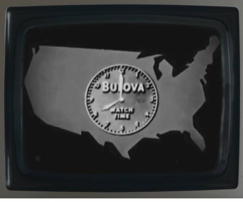 The original TV broadcasters didn't air a commercial for 13 years. The first paid TV commercial was this :10 second Bulova spot in 1941.