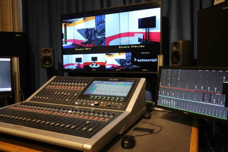 "The Brio Calrec audio console at University of Surrey provides students with a true, ""real world"" professional broadcast experience."