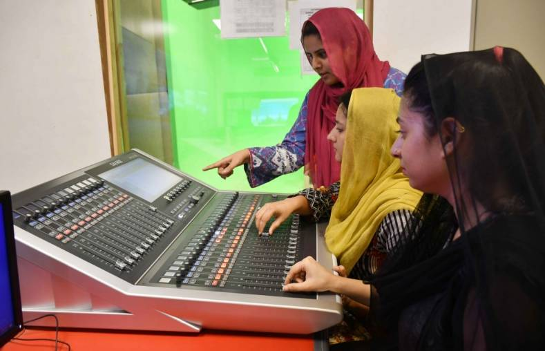 Using the Calrec Brio36 console, AAP is the first channel in Pakistan to benefit from Dante audio-over-IP networking.