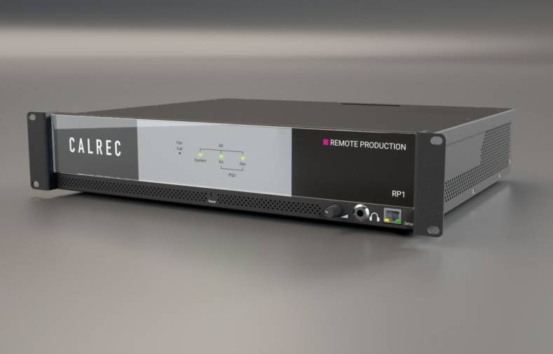 Calrec's RP1 core manages all of the processing for IFB routing and remote monitor mixes, with no latency.