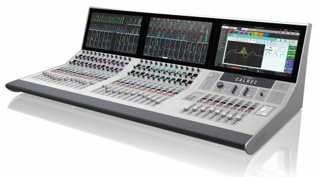 The 128-channel Summa and an Artemis Light console are both installed in TV2 Hungary